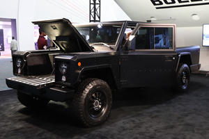 Bollinger's Extreme Electric Off-Roaders Show Tesla How It's Done
