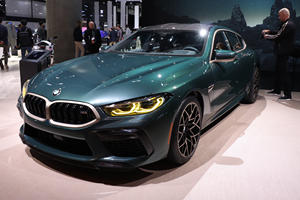 BMW Brought A Very Special M8 Gran Coupe To LA