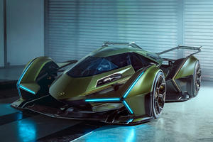 Lamborghini Lambo V12 Vision Gran Turismo Is Absolutely Wild