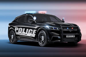 Ford Mustang Mach-E Begs To Become A Police Car