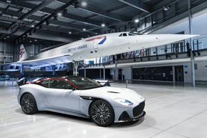 Special Aston Martin DBS Superleggera Celebrates 50 Years Of Concorde