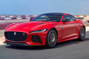 This Is When The Jaguar F-Type Facelift Will Debut