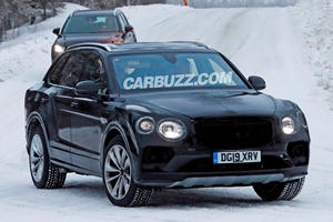 Bentley Bentayga Facelift Coming To Battle Aston Martin DBX