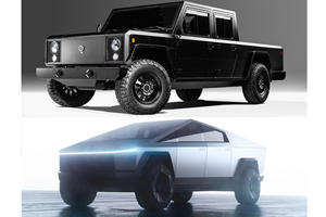 Tesla Cybertruck Vs. Bollinger B2: How Do They Compare?