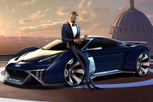 Audi RSQ e-tron Supercar Comes To Life