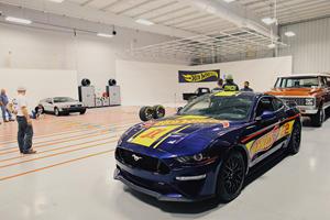 Nascar Champion Creates World's Longest Hot Wheels Track
