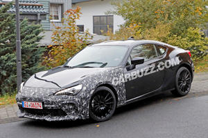 Mysterious Subaru BRZ Spied With Aggressive Upgrades