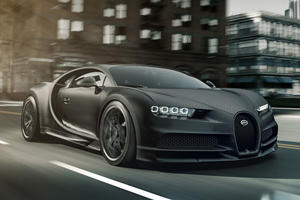 Bugatti Chiron Noire Is A Limited Edition Stealth Machine