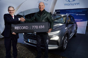 Hyundai Nexo Claims World Distance Record