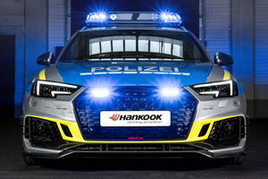 Audi RS4-R Transformed Into One Seriously Hot Police Car