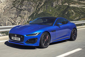 2021 Jaguar F-Type R Coupe First Look Review: More Power And Style