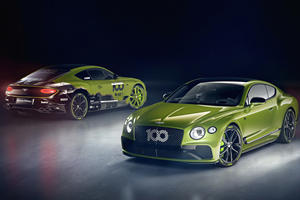 Special Bentley Continental GT Celebrates A World Record