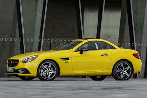 Mercedes Waves Goodbye To The SLC With Final Edition