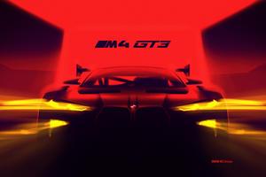 BMW M4 GT3 Teaser Reveals Awesome Surprises