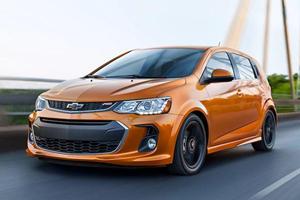 Chevrolet Sonic Experiences Massive Sales Drop