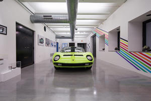 Lamborghini Miura Installation Shows Breathtaking Design