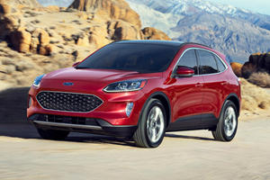 2020 Ford Escape Hybrid Boasts Best-In-Class Economy