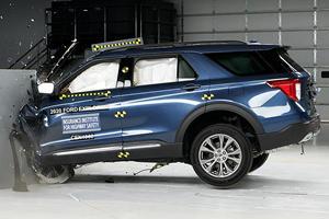 2020 Ford Explorer Misses On Top Safety Pick Award