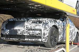 New Rolls-Royce Ghost Shows Off Its Elegant Body