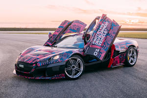 1,900-HP Rimac C_Two Hypercar Looks Incredible In Action
