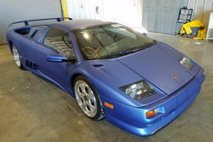 Flooded 1999 Lamborghini Diablo VT Has Amazing Price