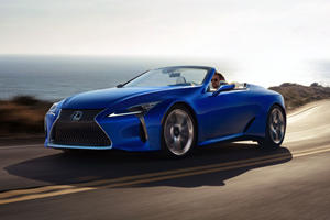 First 2020 Lexus LC 500 Convertible Will Sell For Big Bucks
