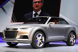 Audi Unveils Crosslane Coupe Concept in Paris