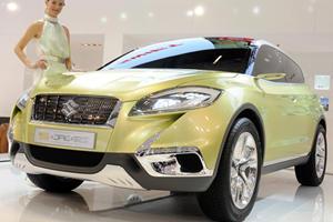Suzuki S-Cross Concept Previews SX4 Replacement