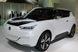 SsangYong Unveils its e-XIV Concept at Paris
