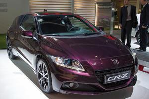 Honda Reveals Refreshed 2013 CR-Z