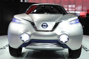 Nissan Terra Concept Projects a 4x4 With Zero Emissions