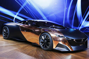 Peugeot Onyx Supercar Concept Wows in Paris