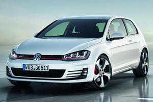 Volkswagen Surprises with GTI Concept in Paris