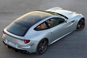 Ferrari Debuts Glass-Roof FF in Paris