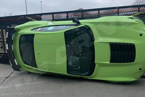 Crashed 2020 Shelby GT500 Has Seen Better Days