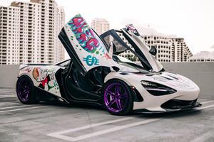 Famous Street Artist Helps Create Once-Off McLaren 720S