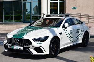 Mercedes-AMG GT 63 S Joins The Dubai Police Force