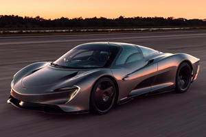 McLaren Speedtail Goes To NASA For High-Speed Tests