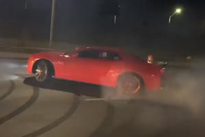 Chevy Camaro Driver Wanted By Police For Doing Donuts On The Highway