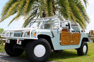 This Hummer Was Made For Cruising The Beach