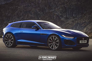 Jaguar F-Type Shooting Brake Would Be Our Dream Wagon