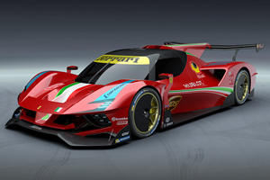 This Is What A Ferrari Le Mans Hypercar Looks Like
