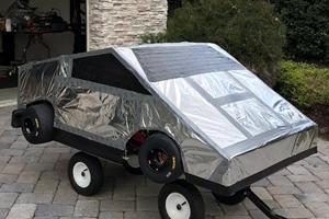 Latest Fake Tesla Cybertruck Is Unlike Any Other