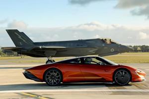 McLaren Speedtail Races A Jet Fighter In New Top Gear Trailer