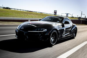 Driving The World's First Manual Toyota Supra