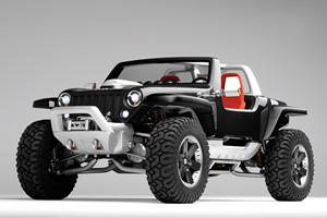 Jeep Hurricane Was An Insane Offroad Concept