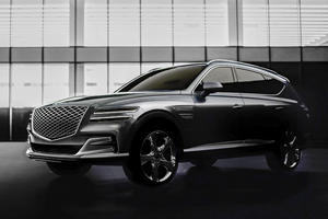 New Year's Surprise: 2021 Genesis GV80 Officially Revealed