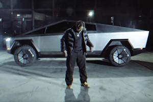 Tesla Cybertruck Makes Music Video Debut