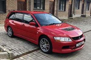 Be The Family Hero With This Extremely Rare Mitsubishi Evo Wagon