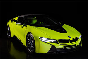 BMW i8 Roadster LimeLight Edition Is A One-Off Special By Alcantara